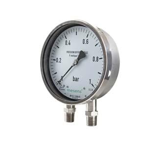 Differential Pressure Manometers
